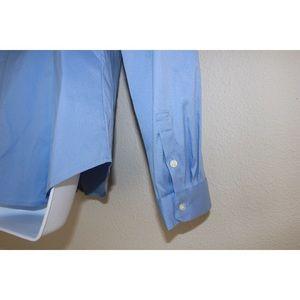 Ann Taylor Tops - Ann Taylor Soft Blue Tailored Stretch Dress Shirt